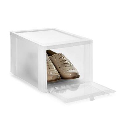 1 stk Skoboks i Transparent Plast til Sneakers
