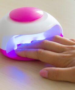 Primizima transportable negletørrer med UV lys