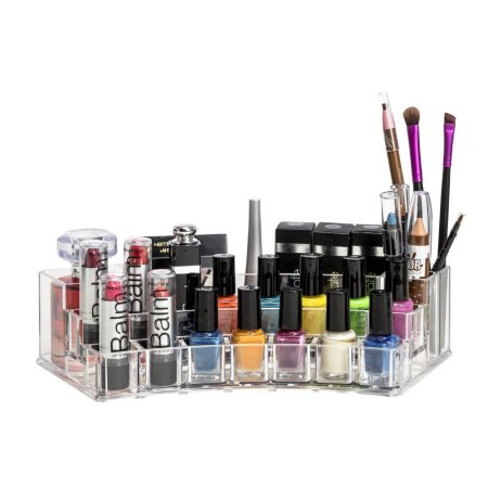Makeup organizer kurvet i akryl