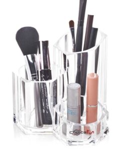 Makeup akryl organizer tårn til pensler og mascara