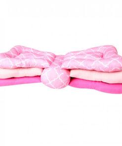 Justerbar soft luxus ammepude i lyserød