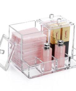 Makeup Organizer til Vatpinde og Kosmetik