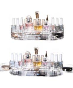 Hellolovely stor akryl makeupholder til opbevaring af makeup & smykker