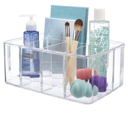 Hellolovely akryl opbevaringsboks med 5 rum