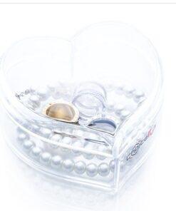 Hellolovely hjerteformet beholder til smykker
