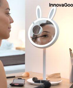 Mirrobbit makeupspejl med led lys