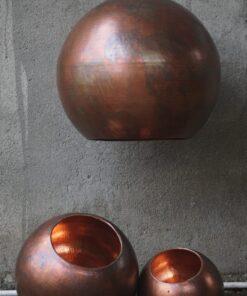Balilampe original bruneret Ø25cm