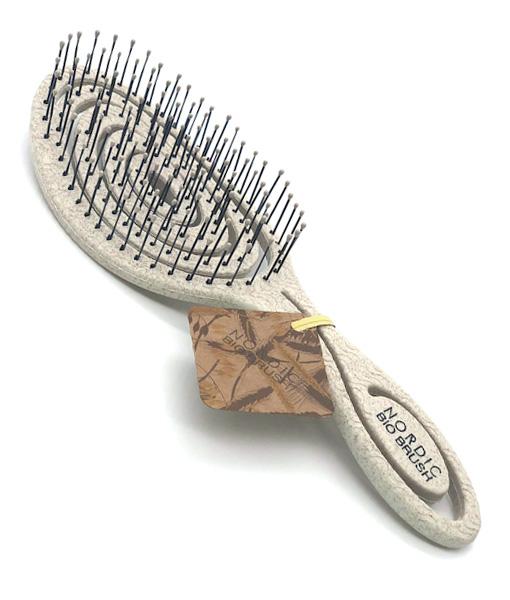 Nordic BIO BRUSH hårbørste i sand