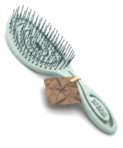 Nordic BIO BRUSH hårbørste i lime grøn