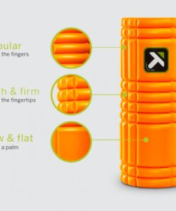 Trigger Point THE GRID 1.0 - 13' Foam Roller - Sort