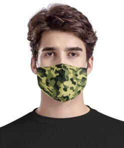 Stof ansigtsmaske i 3 lag - Camouflage - Unisex