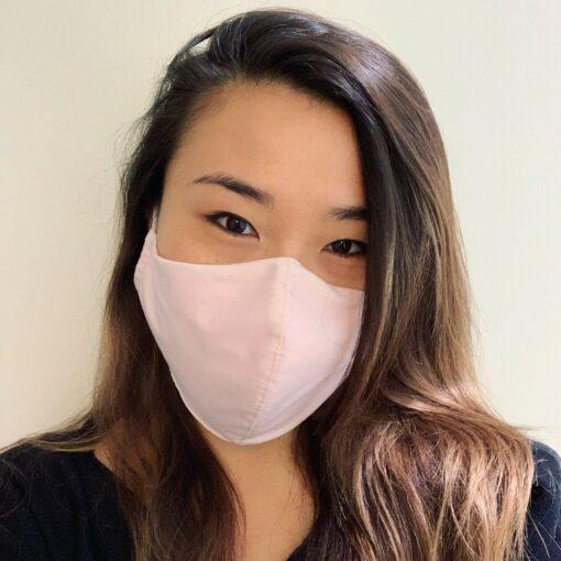 Stof ansigtsmaske i 3 lag - Pink - Unisex